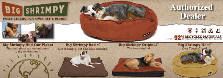 Big Shrimpy Dog Beds