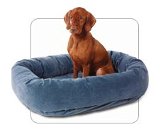 Bowser Donut Dog Bed