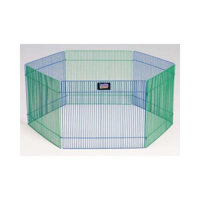 Midwest Small Pet Playpen 6 panels 15in x 19in - 100-15