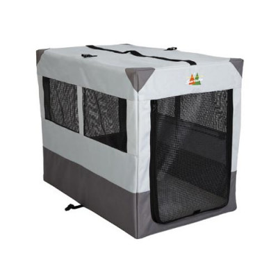 Midwest Canine Camper Sportable Gray 42in x 26in x 32in - 1742SP
