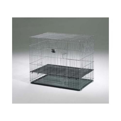Midwest Puppy Playpen with Plastic Pan and 1/2in Floor Grid 24in x 36in x 30in - 224-05