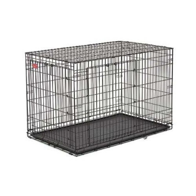 Midwest Life Stage A.C.E. Double Door Crate 48in x 30in x 33in – ACE-448DD