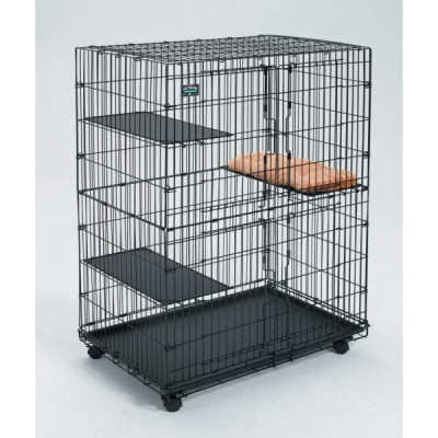 Midwest Collapsible Cat Playpen 35.75in x 23.5in x 51in - CAT130
