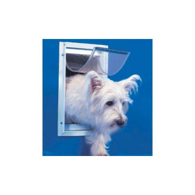 Ideal Deluxe Dog Door Small White - DDSW