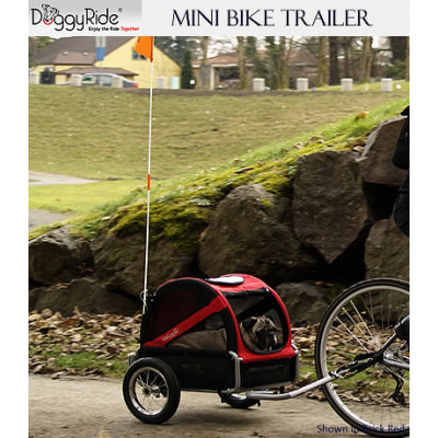 DoggyRide Mini Pet Bike Trailer