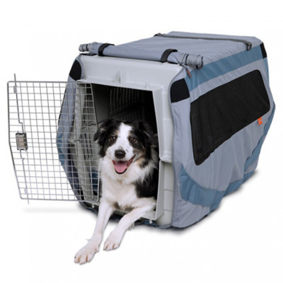 Classic Dog About Crate Cover