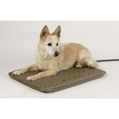 K&H Pet Products Lectro-Soft Heated Outdoor Bed Medium 19in x 24in x 1.5in 40 watts - KH1080