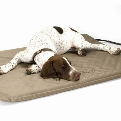 K&H Pet Products Lectro-Soft Heated Outdoor Bed Large 25in x 36in x 1.5in 60 watts - KH1090