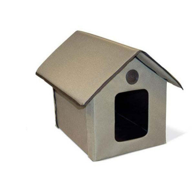 K&H Outdoor Kitty House 22in x 18in x 17in