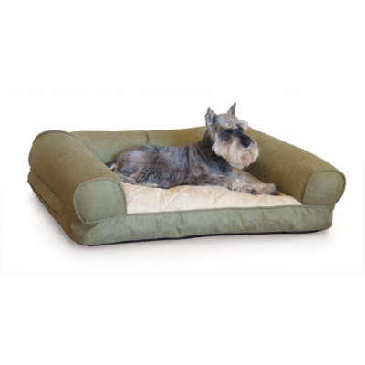 K&H Pet Products Lazy Sofa Sleeper - Green