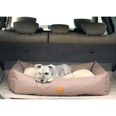 K&H Pet Products Travel / SUV Bed Small Tan 24in x 36in x 7in - KH7601