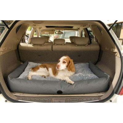 K&H Pet Products Travel / SUV Bed Small Gray 24in x 36in x 7in - KH7602