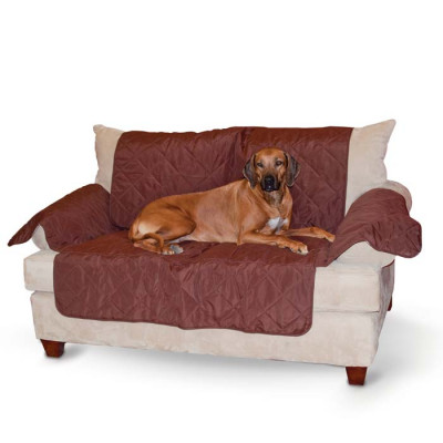 K&H Pet Products Economy Furniture Cover Couch Chocolate 75in x 108in x 0.25in – KH7826
