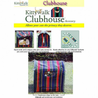 Kittywalk Clubhouse 24in x 18in x 24in – KWCLUB