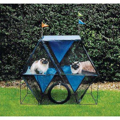 Kittywalk Ferris Wheel 44in x 24in x 40in – KWSFW110