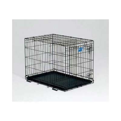 Midwest Life Stages Single Door Dog Crate 24in x 18in x 21in - LS-1624