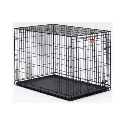 Midwest Life Stages Single Door Dog Crate 36in x 24in x 27in - LS-1636