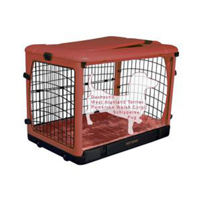 Pet Gear Other Door Steel Crate with Pad & Carry Bag
