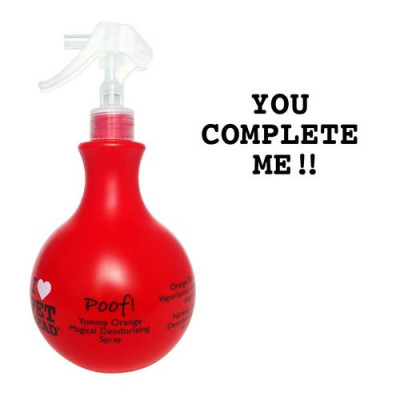 Pet Head Poof Magical Deodorizing Spray Yummy Orange 15oz – PH10302