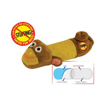 Petstages Stuffing Free Lil' Squeak Monkey - PS633