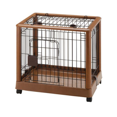 Richell Mobile Pet Pen 640 - Small 25.2in x 18.1in x 22.4in - R94127