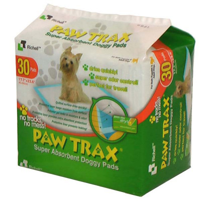 Richell Paw Trax Pet Training Pads 30 Count - R94541