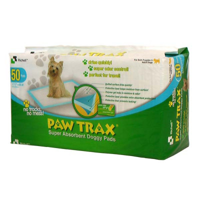 Richell Paw Trax Pet Training Pads 50 Count - R94542