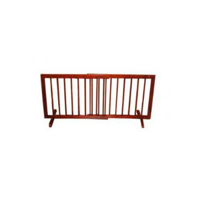 Cardinal Step Over Gate Walnut 28in - 51.75in x 20in - SG-1-WA