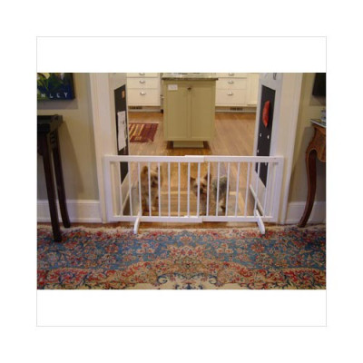 Cardinal Step Over Gate White 28in - 51.75in x 20in - SG-1-WH