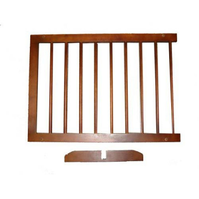 Cardinal Extension For Step Over Gate Walnut 22in - SGX-WA