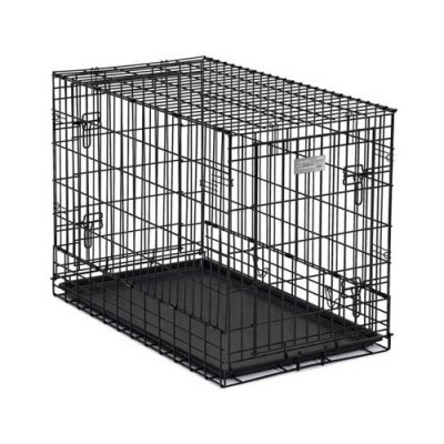 Midwest Solutions Series Side-by-Side Double Door SUV Crates 36in x 21in x 26in - SL36SUV