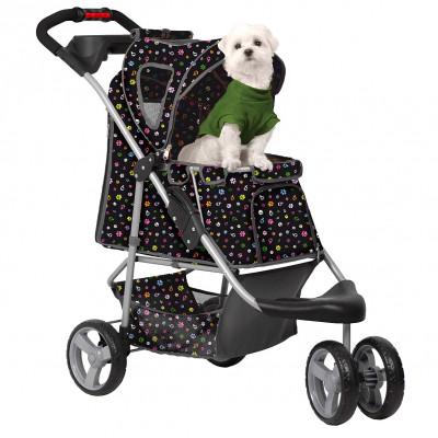 PetZip Monogram Jogging Pet Stroller