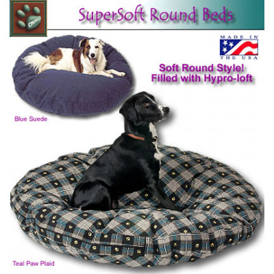 SuperSoft Round Pet Bed