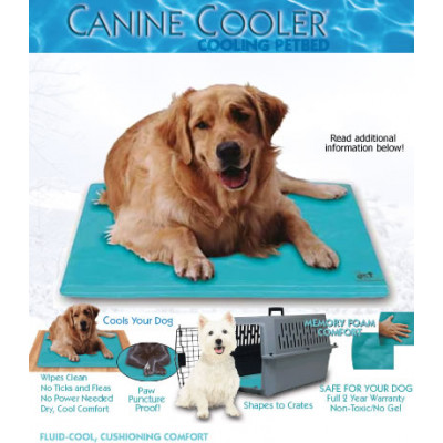 Canine Cooler Pet Bed