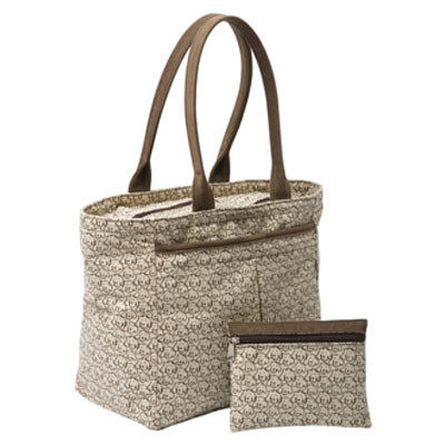 Crypton Material Dog Suede Tote