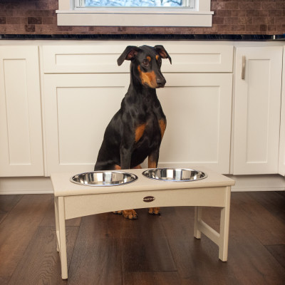 POLYWOOD Dog Feeder