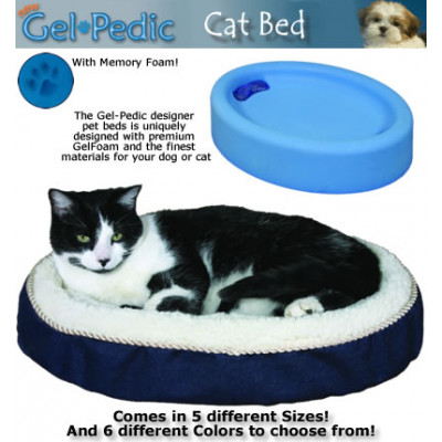 Gel-Pedic Cat Bed