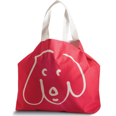 Crypton Doodle Dog Tote