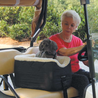 Snoozer Golf Cart Lookout Pet Safety Seat