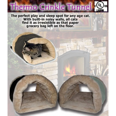 Thermo-Crinkle Kitty/Pet Tunnel