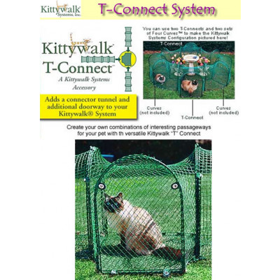 Kittywalk T Connect Pet Closure