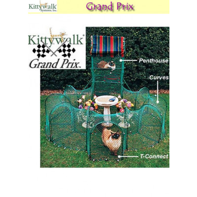 Kittywalk Grand Prix Collection Pet Enclosure