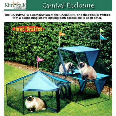 Kittywalk Carnival Enclosure