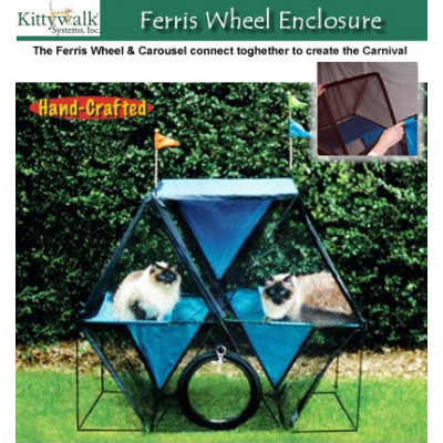 Kittywalk Ferris Wheel Enclosure
