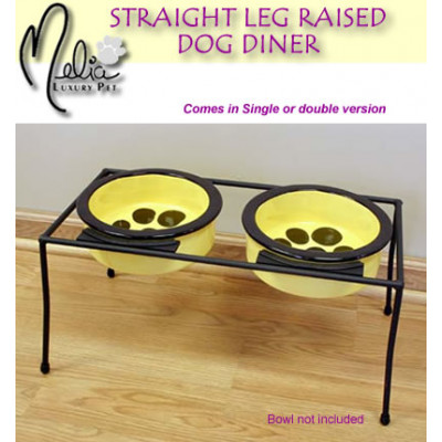 Double Straight Leg Raised Dining Station