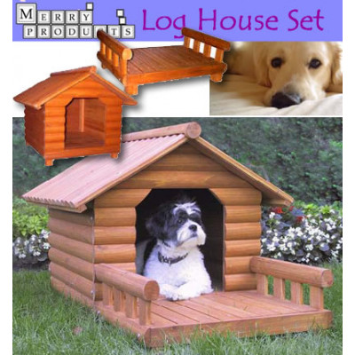 The Log Home Dog House