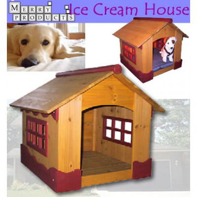 The Ice Cream House Dog House