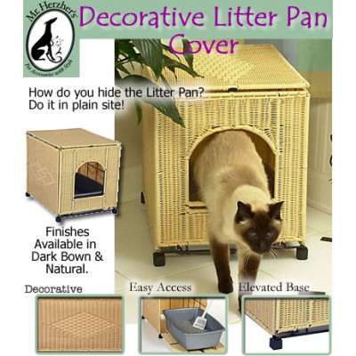 Deluxe Litter Pan Cover