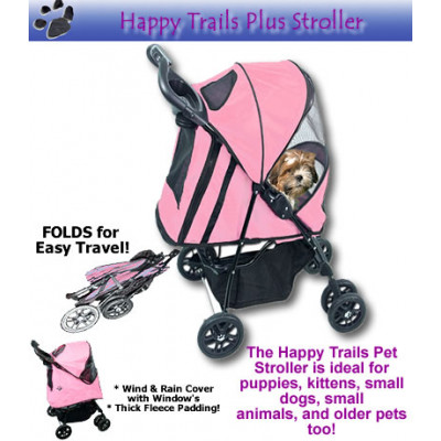 Happy Trails Deluxe Pet Stroller