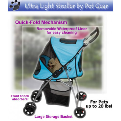 Ultra Light Pet Stroller by Pet Gear